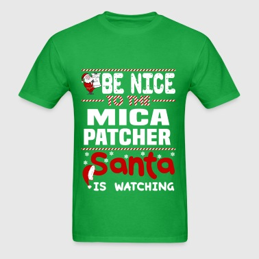 Mica Patcher - Men's T-Shirt