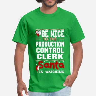 Production Controller Funny Production Control Clerk - Men's T-Shirt