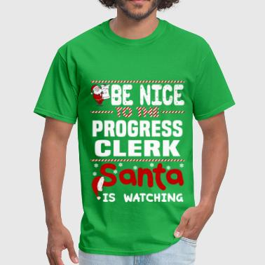 Progress Funny Progress Clerk - Men's T-Shirt