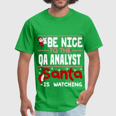 Qa Analyst QA Analyst - Men's T-Shirt