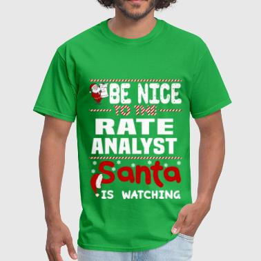 Rate Analyst - Men's T-Shirt