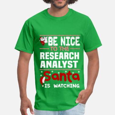 Research Analyst Funny Research Analyst - Men's T-Shirt
