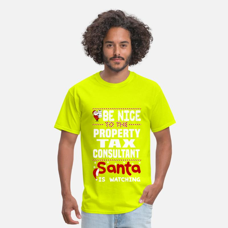 Property Tax Consultant Men's T-Shirt - safety green
