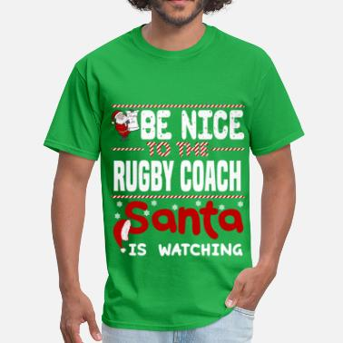 Rugby Christmas Rugby Coach - Men's T-Shirt