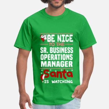 Business Operations Manager Funny Sr. Business Operations Manager - Men's T-Shirt