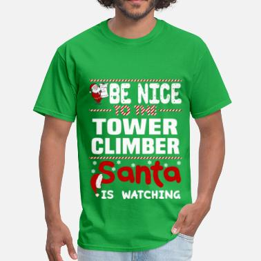 Climber Tower Climber - Men's T-Shirt