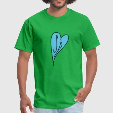 Scott Pilgrim Heart T-Shirt - Men's T-Shirt