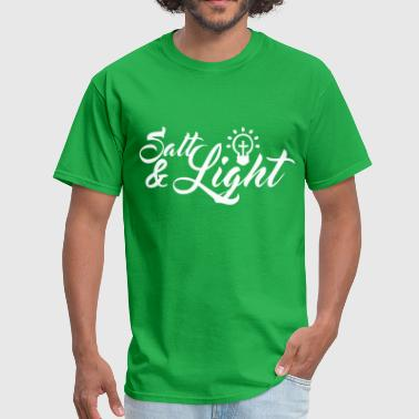 Salt Light Salt and Light - Men's T-Shirt