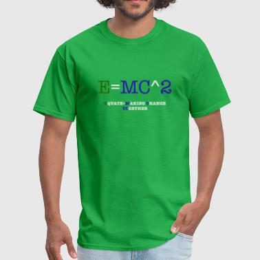 E MC 2 CONTRAST - Men's T-Shirt