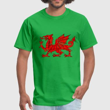 wales_flag_dragon - Men's T-Shirt