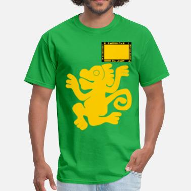 Legends Of The Hidden Temple Team Green Monkeys - Men's T-Shirt