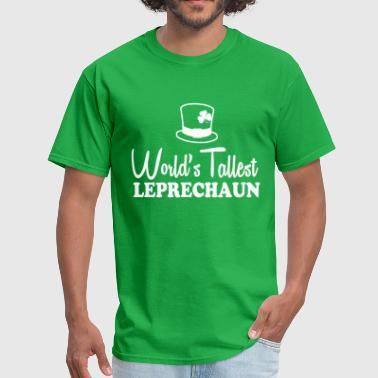 worlds_tallest_leprechaun - Men's T-Shirt