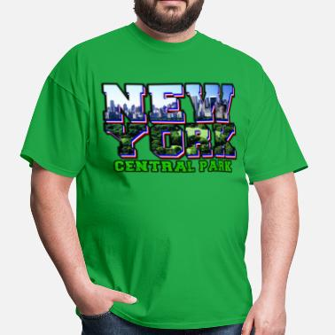 Central Park new york central park - Men's T-Shirt