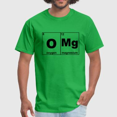 Omg Periodic Table Funny - Men's T-Shirt