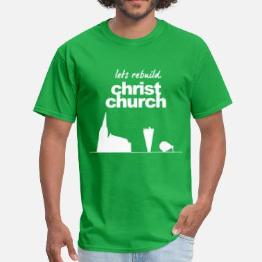 New Zealand Charity Christchurch earthquake relief t-shirts - Men's T-Shirt