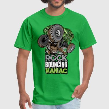 rock bouncing manic green - Men's T-Shirt