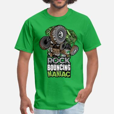 Manic rock bouncing manic green - Men's T-Shirt
