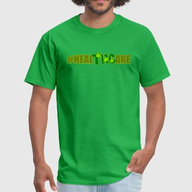 Healthcare And Medicine Hashtag HealTHCare - Men's T-Shirt