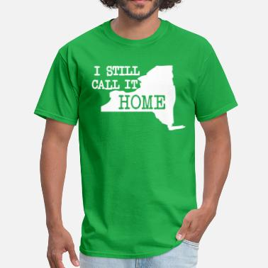 Nyc Roots I Still Call It Home New York Clothing Apparel Tee - Men's T-Shirt