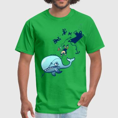 Whales are Furious - Men's T-Shirt
