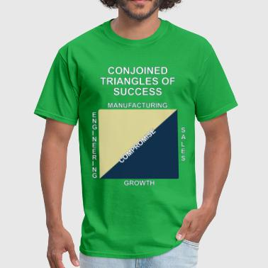 Conjoined triangles of su - Men's T-Shirt