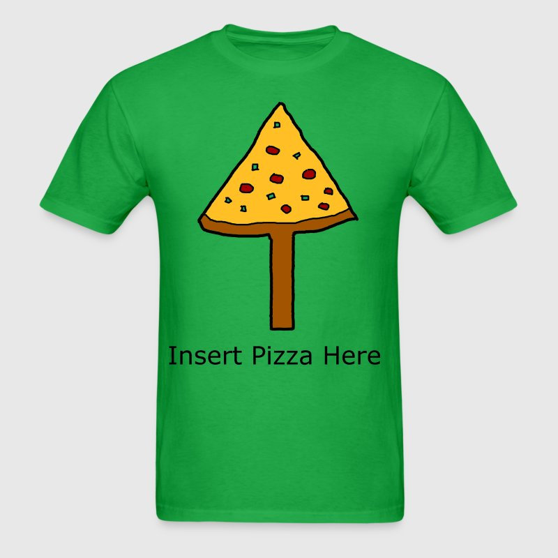 Put the pizza in your face! - Men's T-Shirt