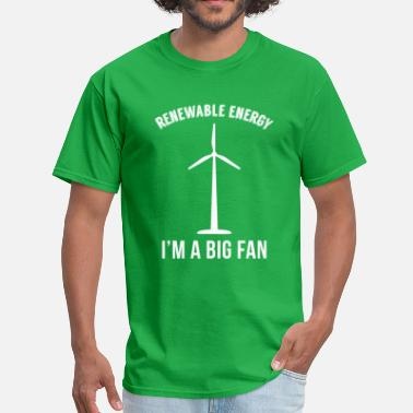 Renewable Energy Clean Energy Earth Day - Men's T-Shirt