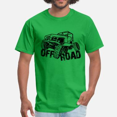 4x4 Off Road Off-Road 4x4 Jeep - Men's T-Shirt