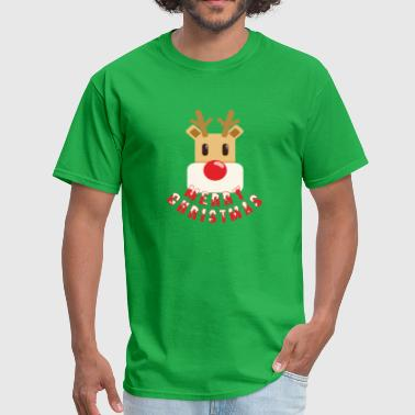 Red Nose Rudolf Rudolf red-nosed reindeer - Men's T-Shirt