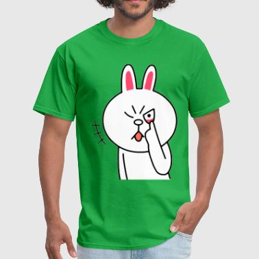 Fucked Rabbit Rabbit - Men's T-Shirt