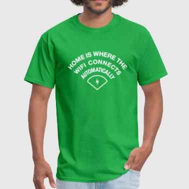 Wifi Connect Smoke - Men's T-Shirt