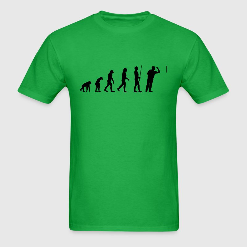 Evolution Dart - Men's T-Shirt