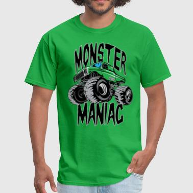 The Freestyle Life Monster Truck Maniac BIG - Men's T-Shirt