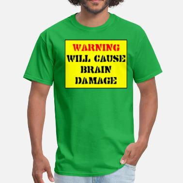 Warning Sign Warning Sign Big - Men's T-Shirt