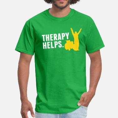 Physiotherapy Therapy helps - Men's T-Shirt