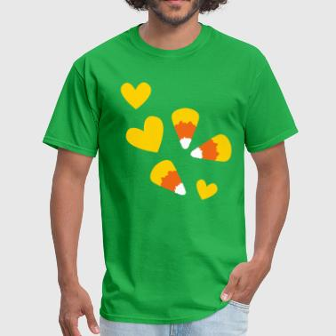 simple corn candy - Men's T-Shirt