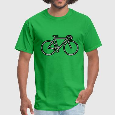 Bicycle Outline bicycle outline - Men's T-Shirt