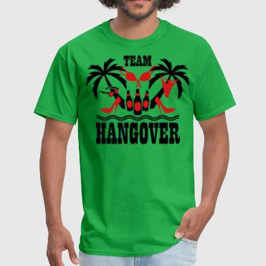 Bachelor Party Surfing 20 Team Hangover Palm beach party funny underwear - Men's T-Shirt