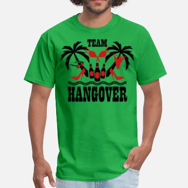 Farewell Party 20 Team Hangover Palm beach party funny underwear - Men's T-Shirt