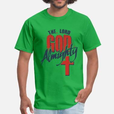 Christian Quotes God Almighty - Men's T-Shirt