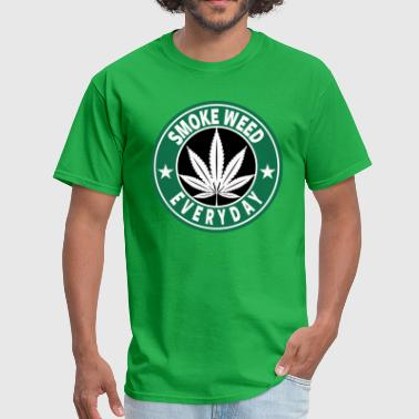 Everyday Smoke weed everyday T-shirt. - Men's T-Shirt