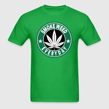 Smoke weed everyday T-shirt. - Men's T-Shirt