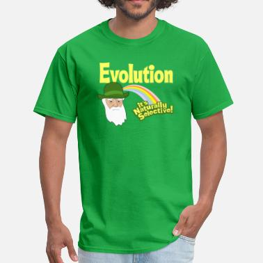 Natural Selection Evolution - it's Naturally Selective! - Men's T-Shirt