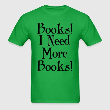 Book Lover Reader Funny - Men's T-Shirt
