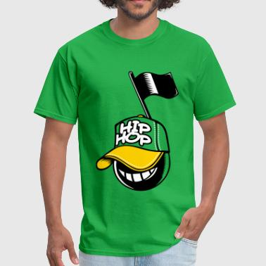 Hip-hop music note - Men's T-Shirt