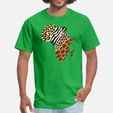 African Animals African Animal Pattern - Men's T-Shirt