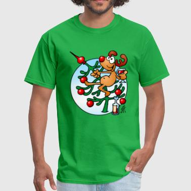 Red Nosed Reindeer Rudolph the Red Nosed Reindeer - Men's T-Shirt