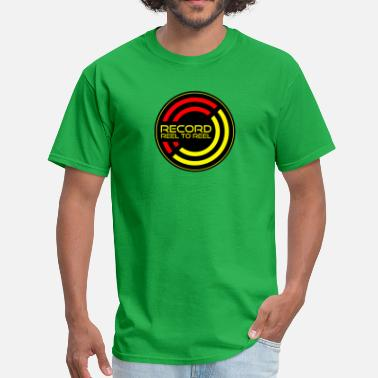 Reel Record Reel To Reel - Men's T-Shirt