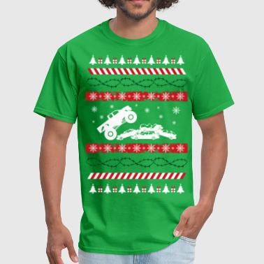 Jam Ugly Christmas Monster - Men's T-Shirt