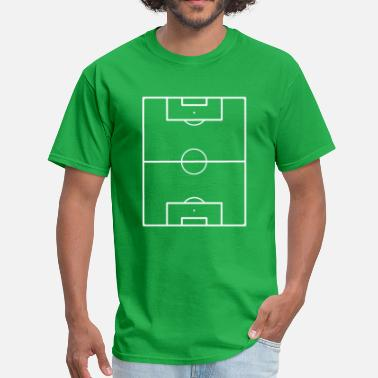 Playing Field Football Field Soccer Pitch Playing Field Ground - Men's T-Shirt